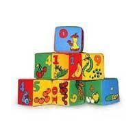 "Кубики мягкие ""Цифры"" 6 штук, Розумна Іграшка"