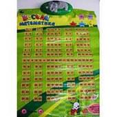 Музыкальный плакат Весела математика (укр) 7TongDe 428089