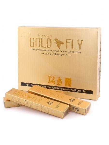 Возбуждающие капли для женщин Шпанская мушка-Spanish Gold Fly, поштучно