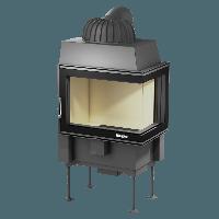 Каминная топка NORDFLAM OSLO R 12 кВт (с правым стеклом), фото 1