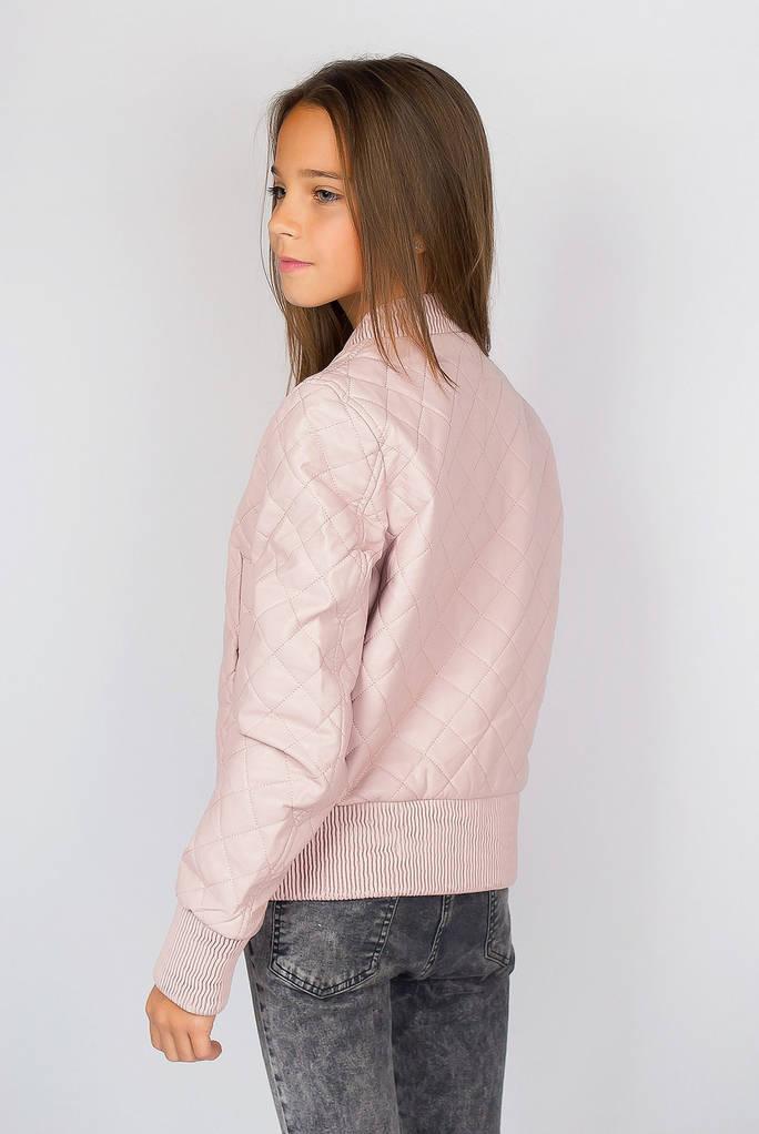 Куртка женская осенняя 657K002 junior (Бледно-розовый)