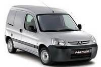 Рейлинги Peugeot Partner (2004+)