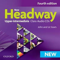 New Headway 4th Ed Upper-Intermediate Class Audio CDs (аудио диски)