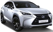 Защита заднего бампера Lexus NX (c 2014--)