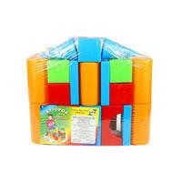Кубики пластиковые Строитель Орион 511