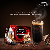 Вьетнамский натуральный растворимый кофе NESCAFÉ CAFÉ VIỆT-очень крепкий!