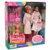 Набор кукол Defa 20996 Judicious doctor (Рассудительный доктор)