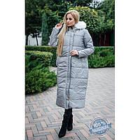 Куртка зимняя женская длинная 592,женские зимние пальто