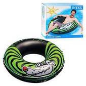 """Пляжный надувной круг Intex 68209 """"River Rat"""" (119 см)"""