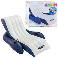Пляжное надувное кресло - шезлонг Intex, 58868 (180*135 см)