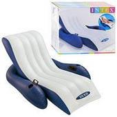 Пляжное надувное кресло - шезлонг Intex 58868 (180*135 см)