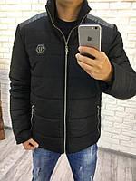 Мужская теплая зимняя куртка на овчине+ синтипон 200.