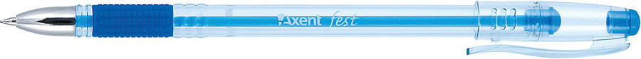 Ручка шариковая Axent Fest синий AB1000-02-А