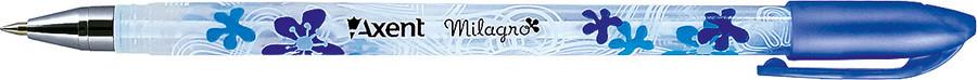 Ручка шариковая Axent Milagro синий AB1011-02-А