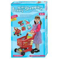 Тележка детская для супермаркета Mini Funny Shopping 08059 B