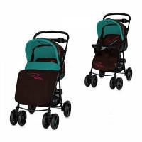 Детская коляска прогулочная Bertoni (Lorelli) Rodeo Blue and Brown Lines