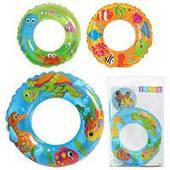 """Детский надувной круг Intex 59242 """"Океанский риф"""" (61 см)"""