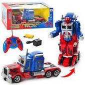"""Трейлер-трансформер на р/у Оптимус Прайм 28128 """"Transformers Optimus Prime"""""""