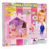 Дом для кукол Doll house (56 элементов) HU 900