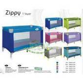 Детская манеж кровать Lorelli Zippy 1 уровень (цвета в ассортименте)