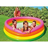 """Детский надувной бассейн Intex, 56441 """"Пылающий закат"""""""