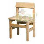 Детский стульчик деревянный (сосна, бук, ольха)