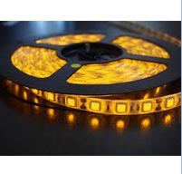 Светодиодная лента LED 5050 Yellow (цвет желтый), фото 2