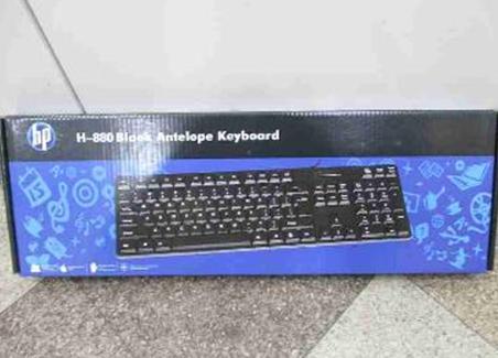 Компьютерная Клавиатура HP H-880 Black, фото 2