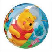 """Детский надувной мяч Intex, 58056 """"Винни Пух"""" (61 см)"""