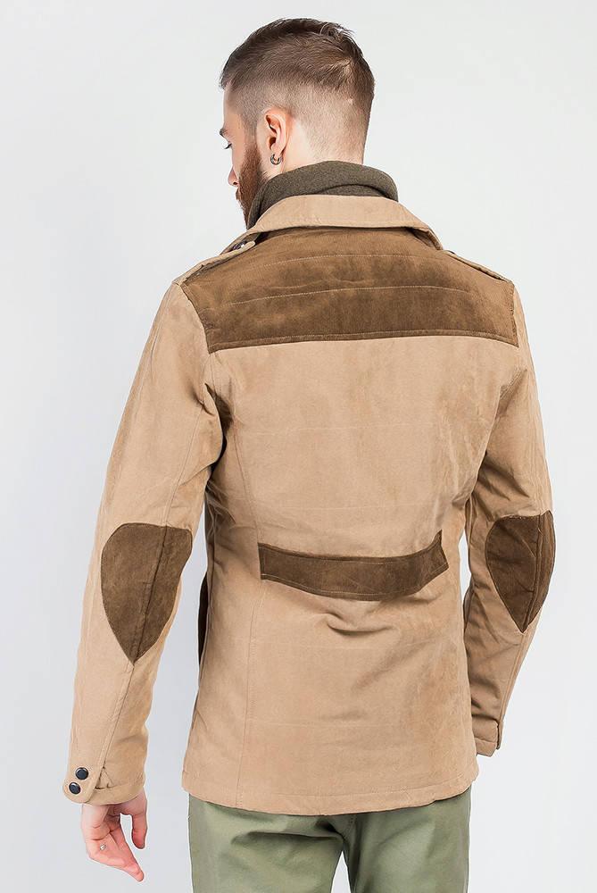 Куртка демисезонная мужская  19PG058 (Бежевый)