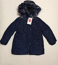 Зимова куртка для дівчаток 92-98 см
