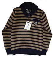 Теплый вязаный свитер для мальчика 128см 8 лет Sergent Major Франция