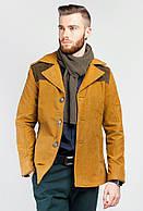 Куртка демисезонная мужская  19PG058 (Горчичный)