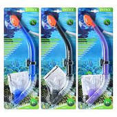 Трубка для дайвинга Intex 55928 (3 цвета)