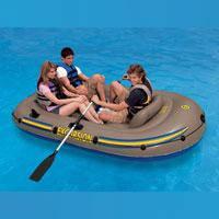 "Надувная лодка Intex ""Excursion 3"" 68319 (насос, весла), фото 1"