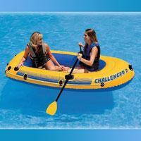 """Надувная лодка Intex """"Challenger 2"""", 68366"""