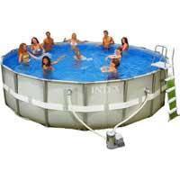 "Каркасный бассейн Intex, 28322 (54452) ""Ultra Frame Pool"" (488*122 см)"