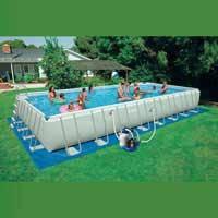 Каркасный бассейн Intex, 28376 (28374, 54988) (975*488*132 см) с песочным фильтром и хлоргенератором