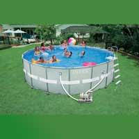 Каркасный бассейн Intex, 28336 (54958) (549*132 см) с песочным фильтром и хлоргенератором