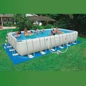 Каркасный бассейн Intex 26368 (28366) (732*366*132 см) с песочным фильтром и хлоргенератором