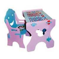 Парта (стол и стул) Bambi W 015 м/ф Тачки