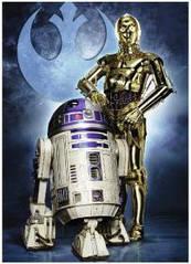 Пазлы Ravensburger R2-D2 и C-3PO 1000 элементов 196821