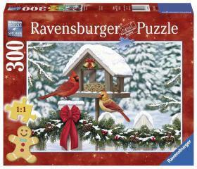 Пазлы Ravensburger Кардиналы на Рождество 300 элементов 135820