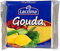 Плавленый тостерный сыр Lactima Gouda 130гр. (8 ломтиков)