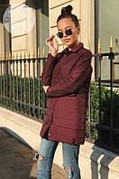 """Стеганое пальто """"Robyn"""" на кнопочках (1 цвет)"""