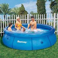 """Семейный надувной бассейн BestWay, 57009 """"Наливной"""" 3640 литров (305*76 см)"""