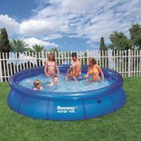 """Семейный надувной бассейн BestWay, 57032 """"Наливной"""" 5380 литров (366*76 см)"""