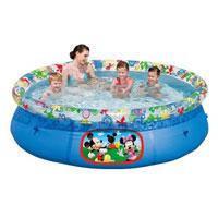"""Семейный надувной бассейн BestWay, 91020 """"Miki Mouse"""" 2300 литров (244*66 см)"""