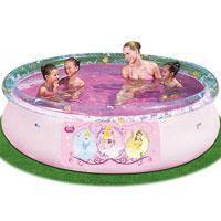 """Семейный надувной бассейн BestWay, 91052 """"Принцессы Диснея"""" 2300 литров (244*66 см)"""