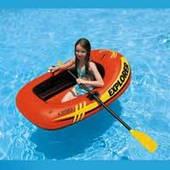 """Надувная лодка Intex """"Explorer 100"""", 58329 до 55 кг (147*84*36 см)"""